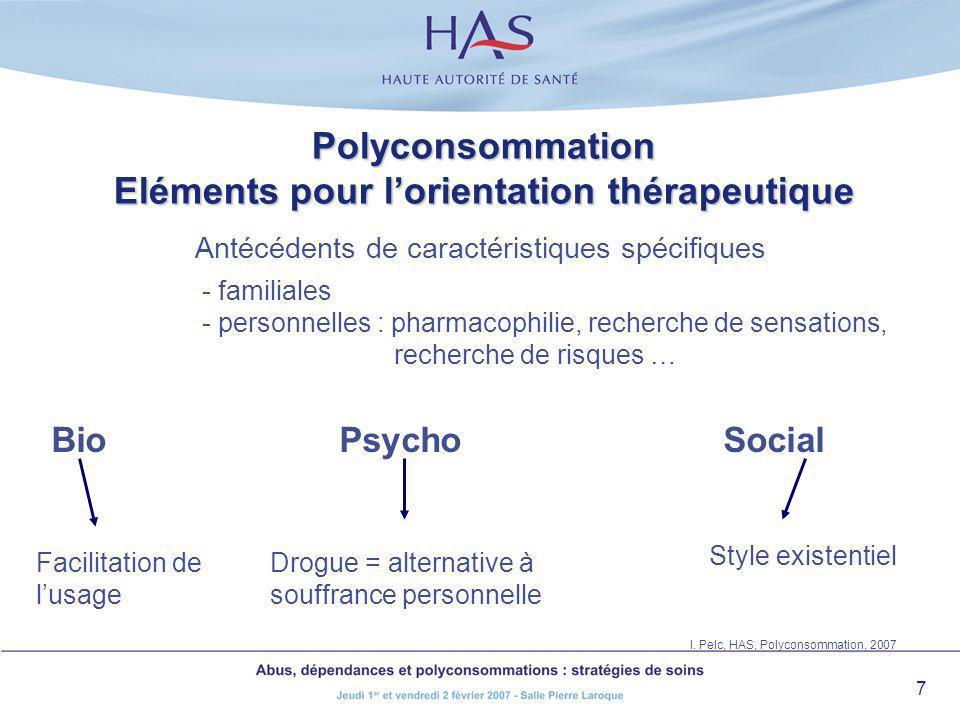Polyconsommation Bio. Sensibilisation comportementale par les drogues: croissante et croisée, et aussi par le stress.