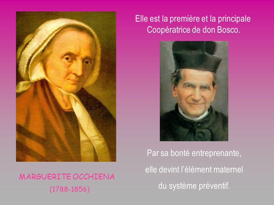 Elle est la première et la principale Coopératrice de don Bosco.