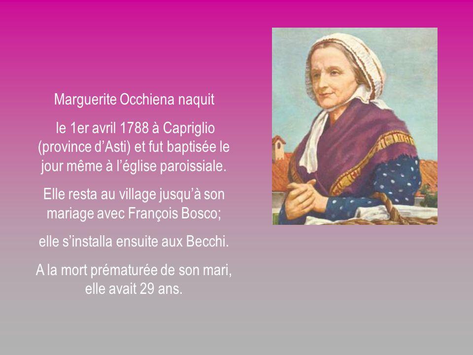 Marguerite Occhiena naquit