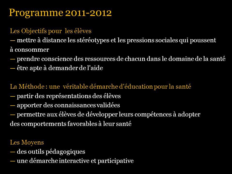 Programme 2011-2012