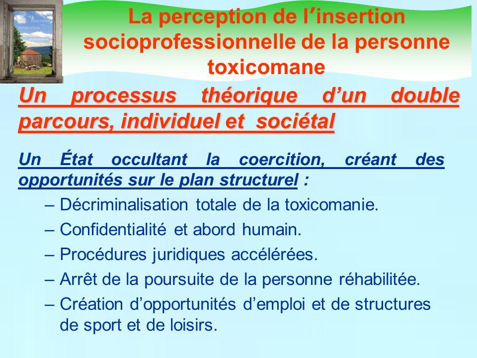 Un processus théorique d'un double parcours, individuel et sociétal