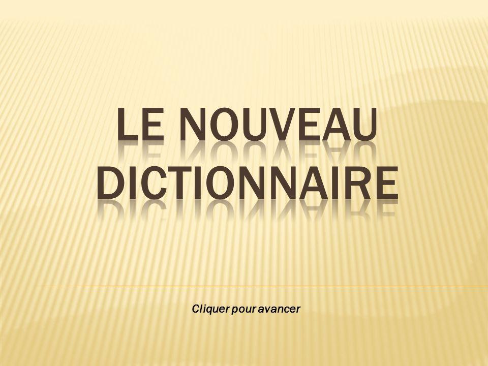 Le nouveau dictionnaire