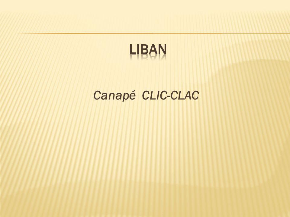 liban Canapé CLIC-CLAC