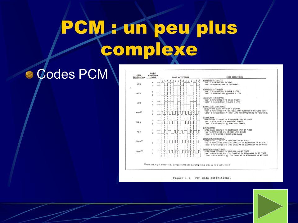 PCM : un peu plus complexe