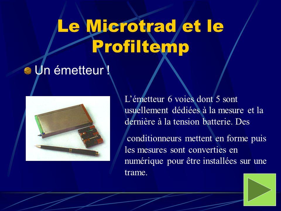 Le Microtrad et le Profiltemp