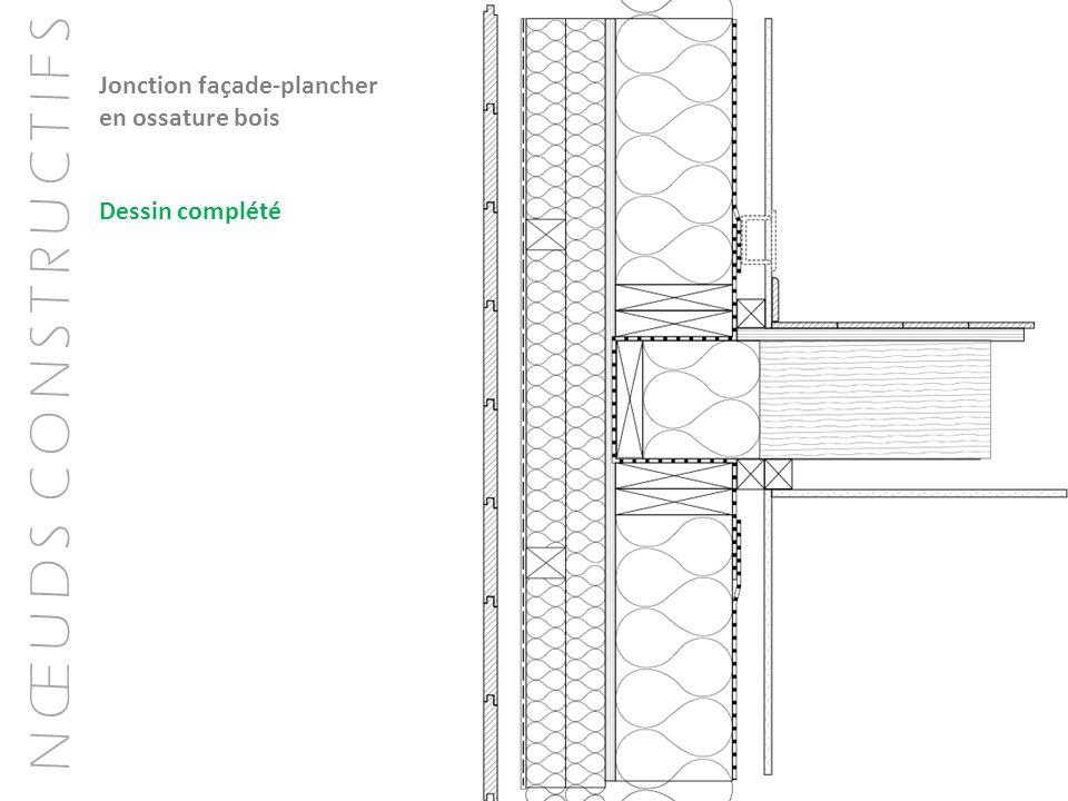 Jonction façade-plancher