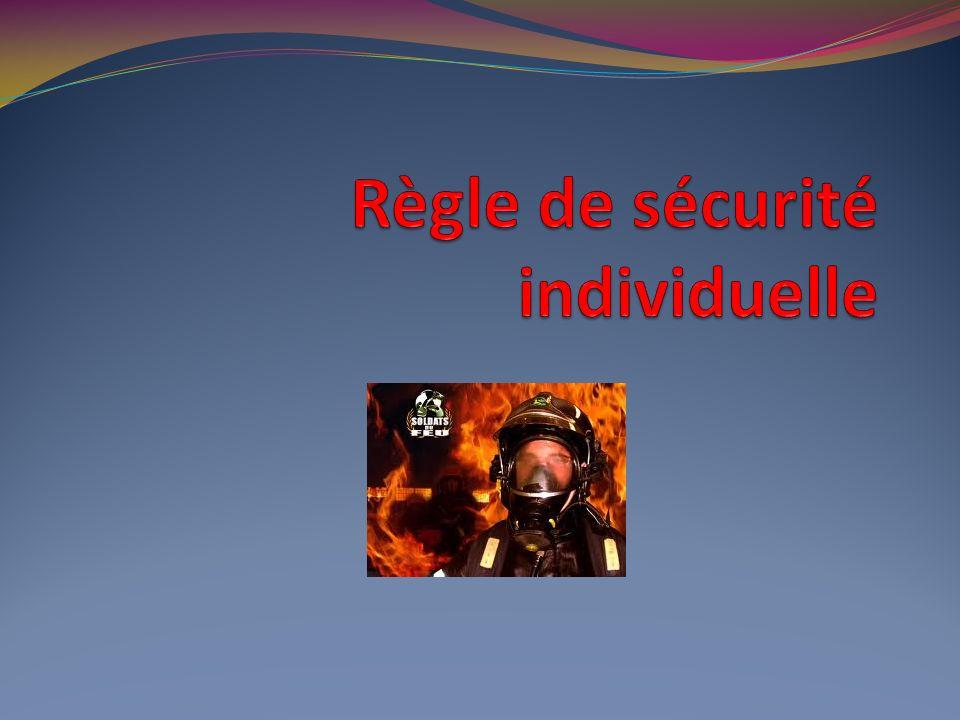 Règle de sécurité individuelle
