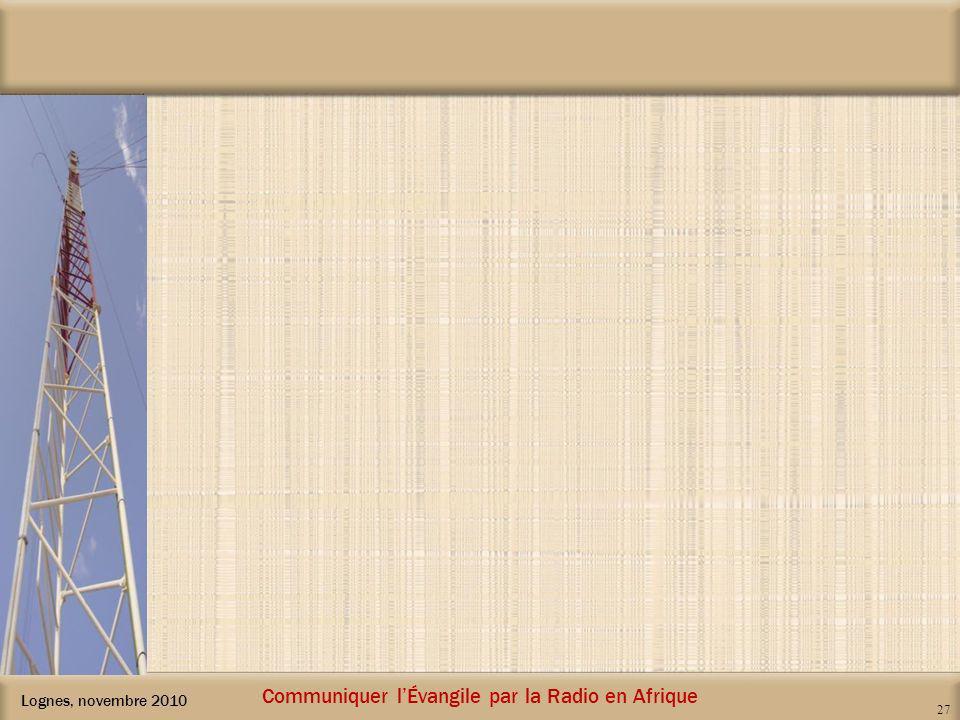 Communiquer l'Évangile par la Radio en Afrique