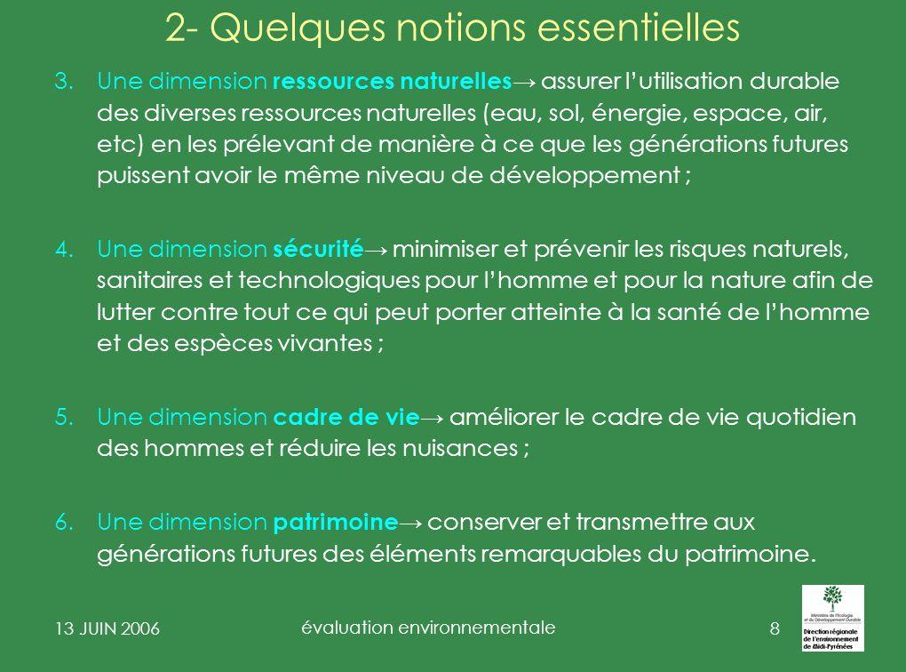 2- Quelques notions essentielles