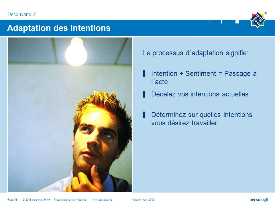 Adaptation des intentions