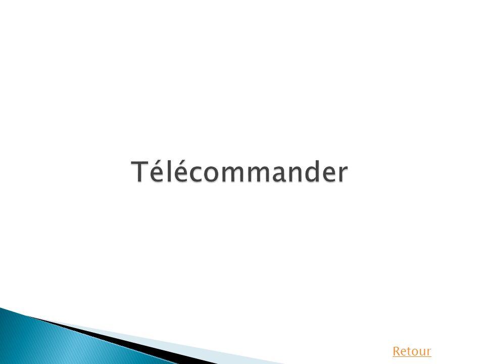 Télécommander Retour