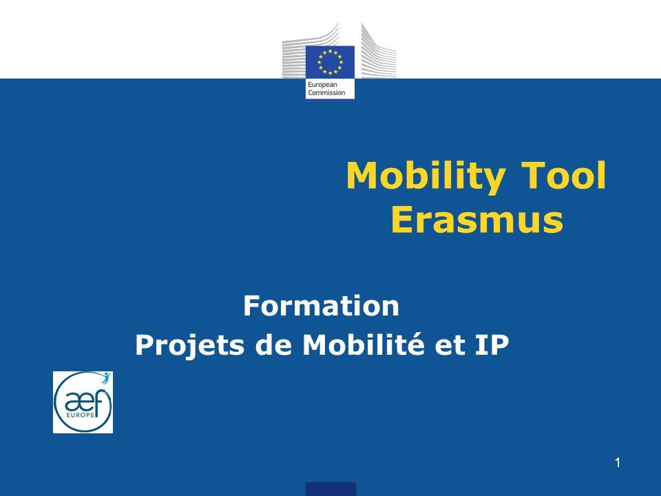 Formation Projets de Mobilité et IP