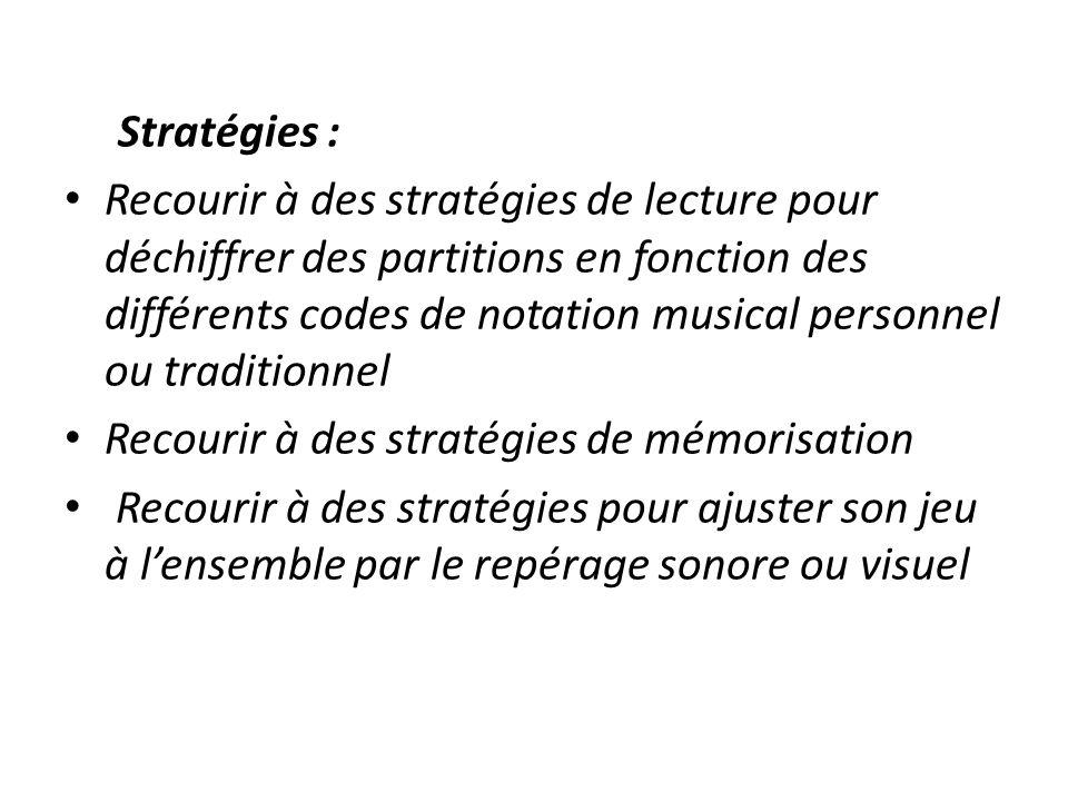 Recourir à des stratégies de mémorisation