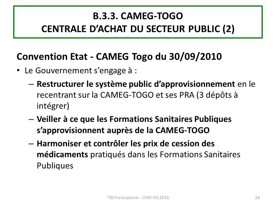 B.3.3. CAMEG-TOGO CENTRALE D'ACHAT DU SECTEUR PUBLIC (2)