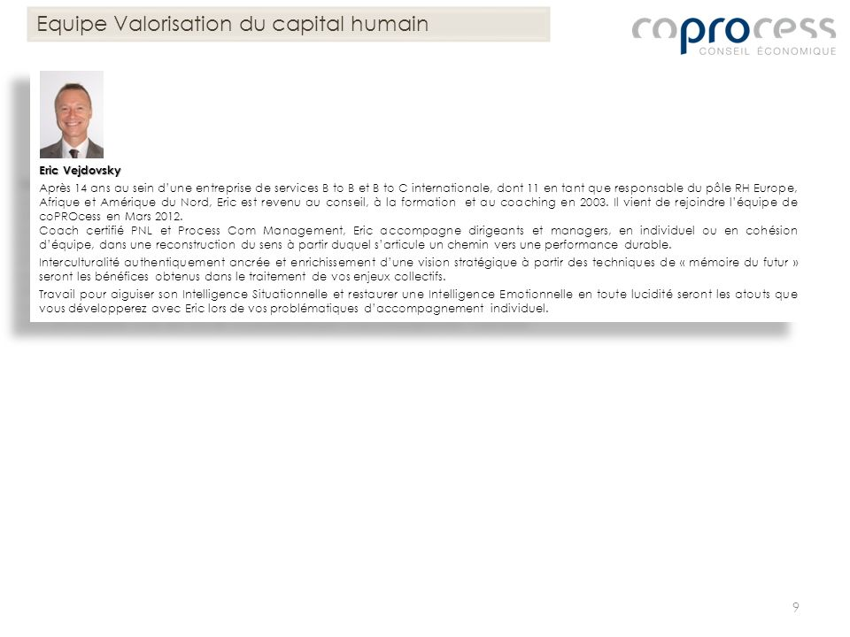 Equipe Valorisation du capital humain