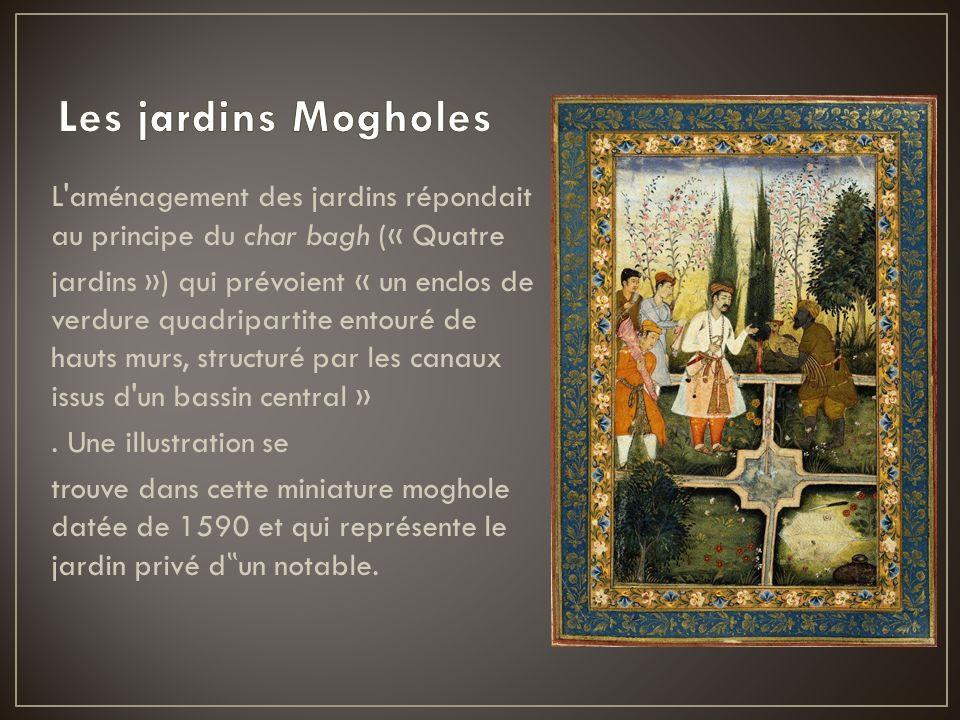 Les jardins Mogholes