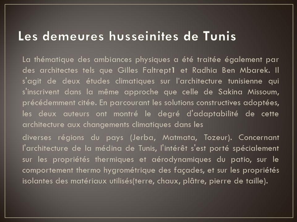 Les demeures husseinites de Tunis