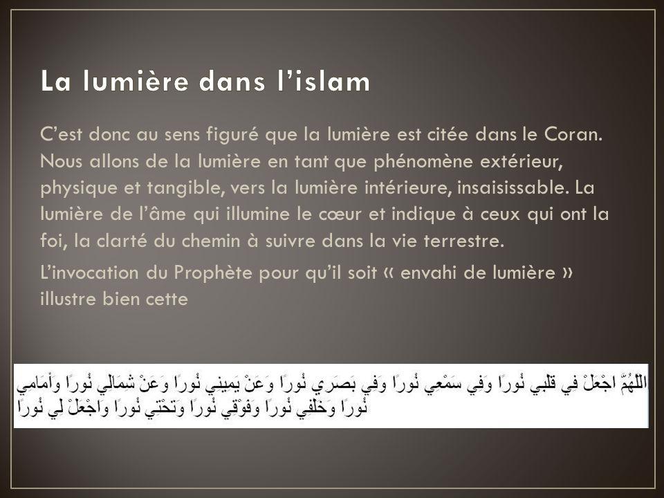 La lumière dans l'islam