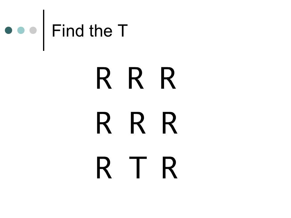 Find the T