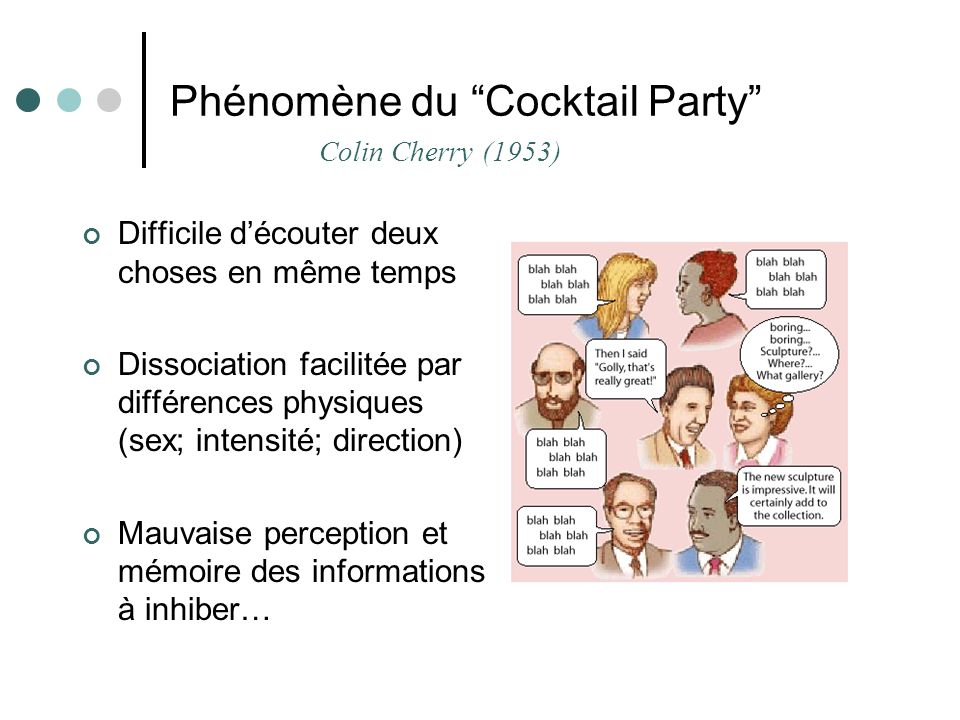 Phénomène du Cocktail Party