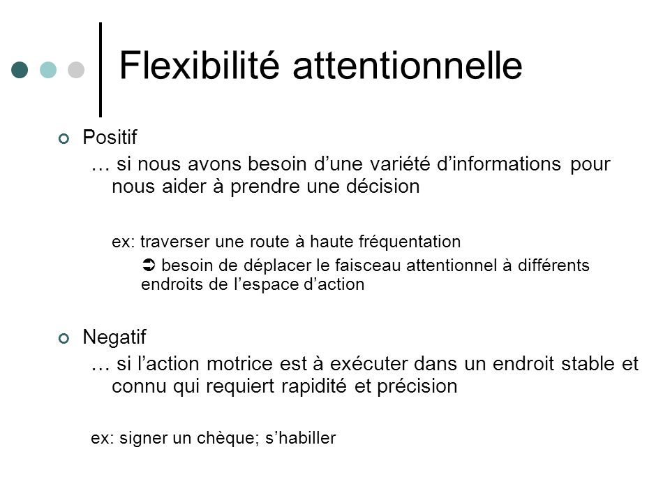 Flexibilité attentionnelle