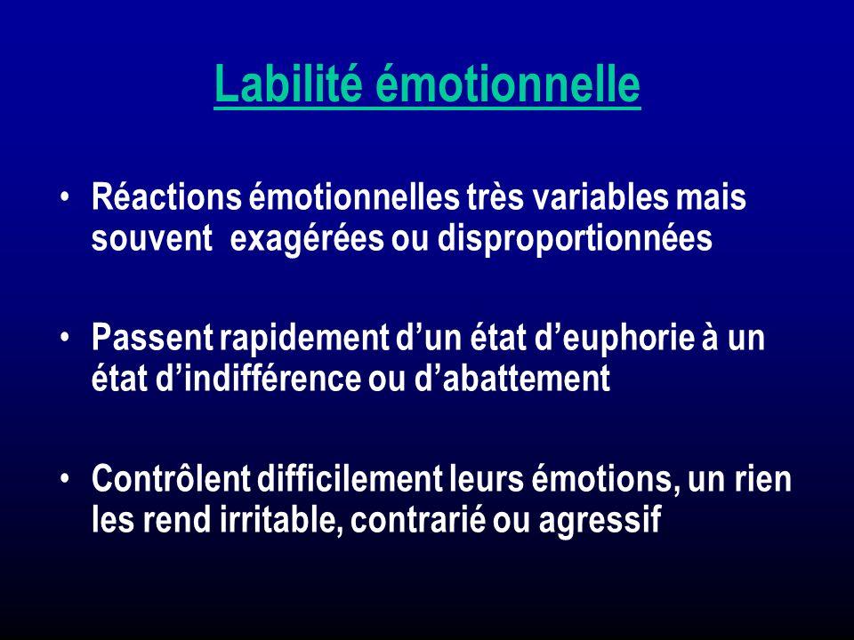 Labilité émotionnelle