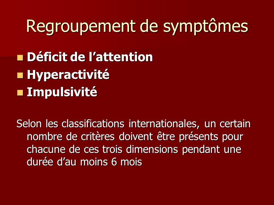 Regroupement de symptômes