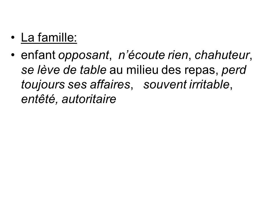 La famille: