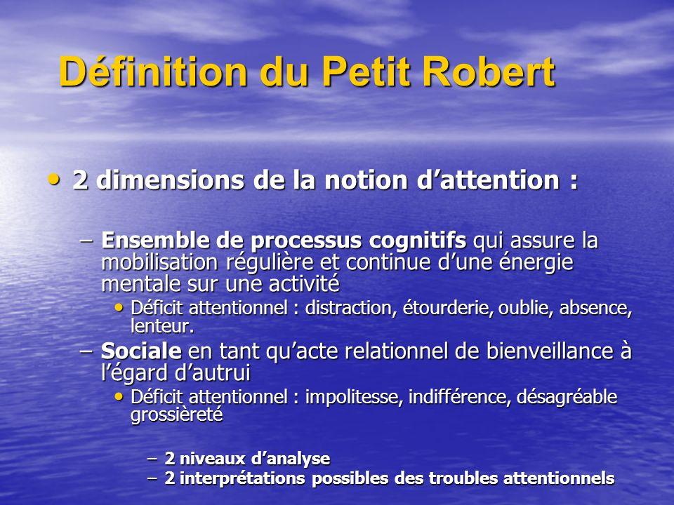 Définition du Petit Robert