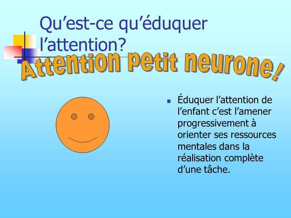 Qu'est-ce qu'éduquer l'attention