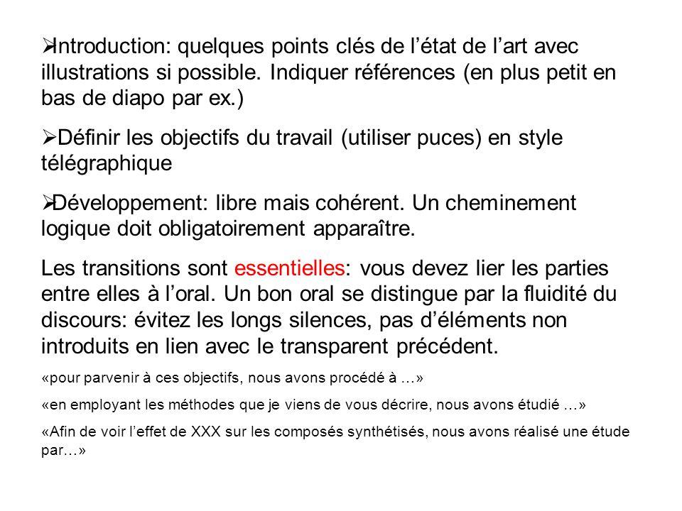 Introduction: quelques points clés de l'état de l'art avec illustrations si possible. Indiquer références (en plus petit en bas de diapo par ex.)