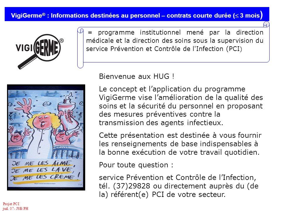 service Prévention et Contrôle de l'Infection,