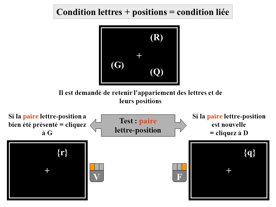 Condition lettres + positions = condition liée