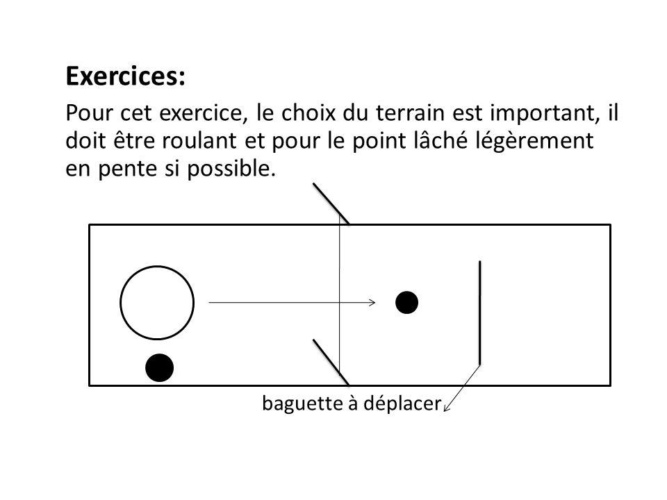 Exercices: baguette à déplacer