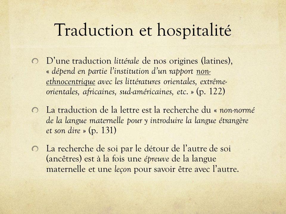 u00c9thique et politique culturelle de la traduction