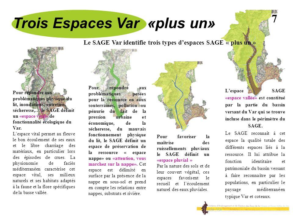 Trois Espaces Var «plus un»