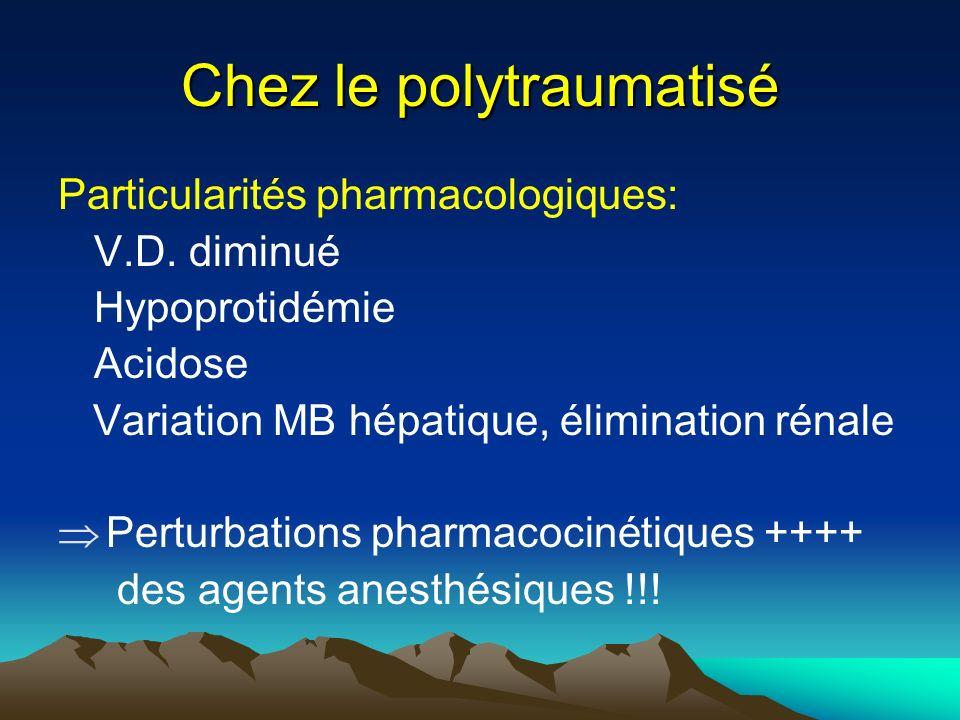 Chez le polytraumatisé