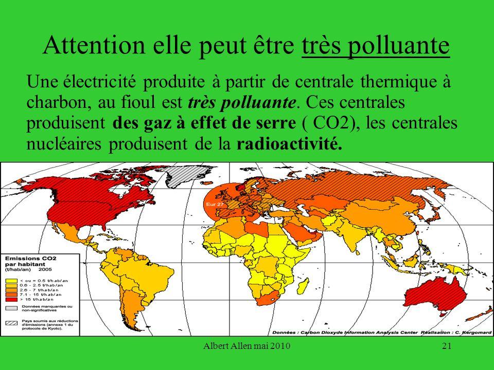 Attention elle peut être très polluante