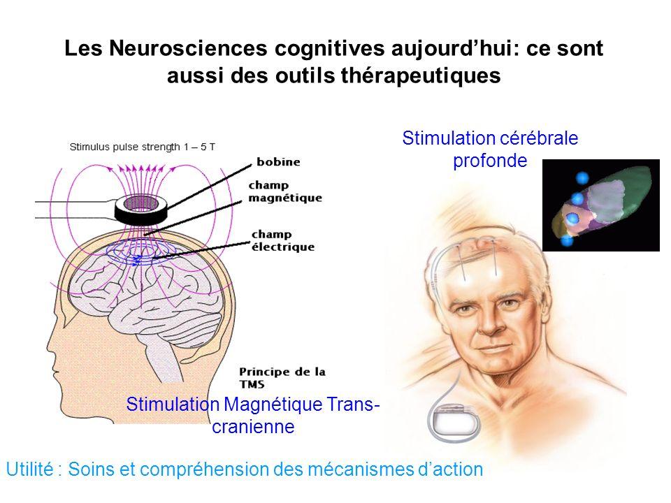 Les Neurosciences cognitives aujourd'hui: ce sont aussi des outils thérapeutiques