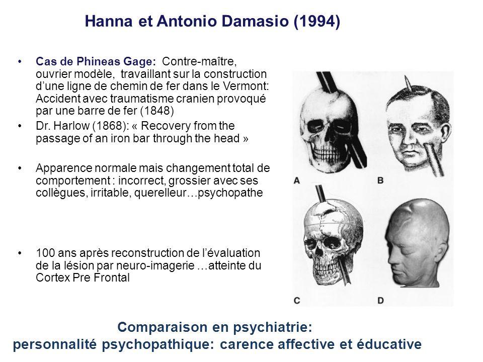 Hanna et Antonio Damasio (1994)