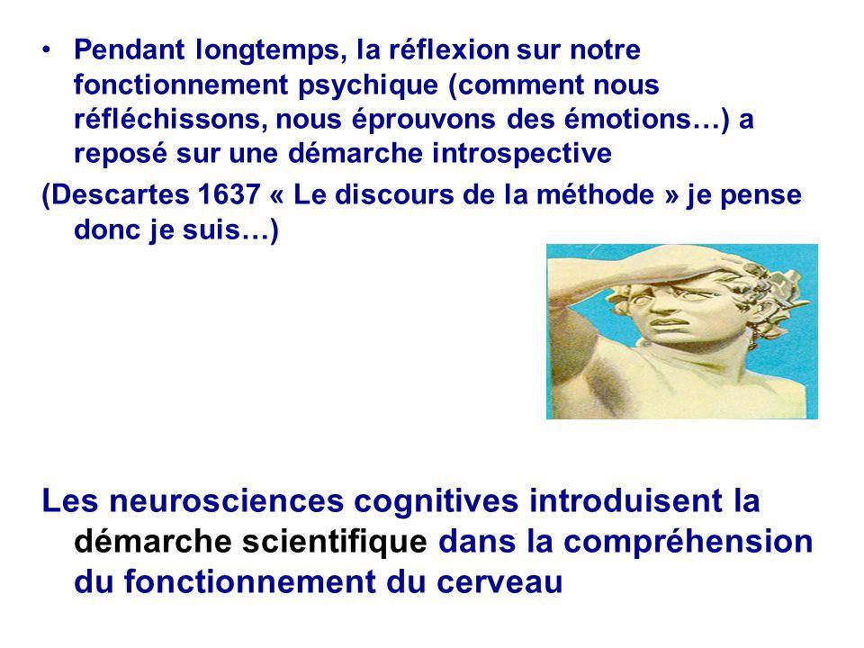 Pendant longtemps, la réflexion sur notre fonctionnement psychique (comment nous réfléchissons, nous éprouvons des émotions…) a reposé sur une démarche introspective