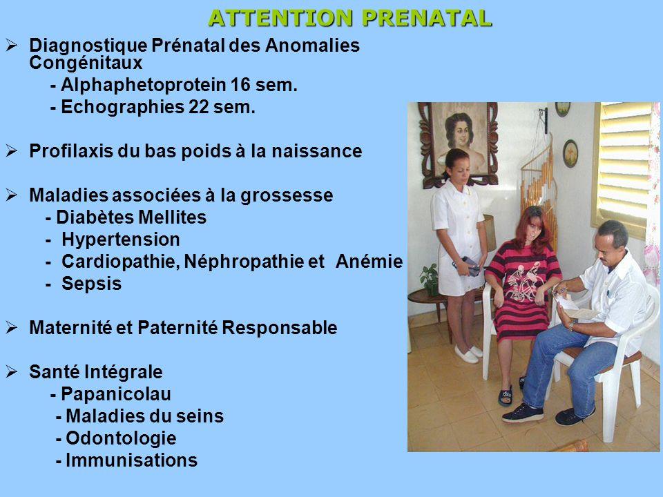 ATTENTION PRENATAL Diagnostique Prénatal des Anomalies Congénitaux