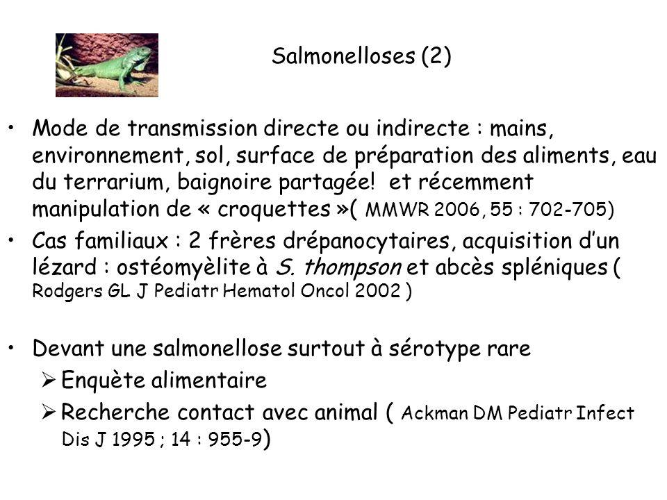 Salmonelloses (2)