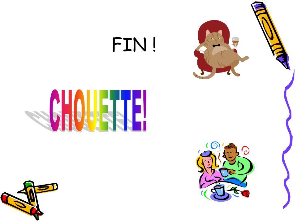 FIN ! CHOUETTE!