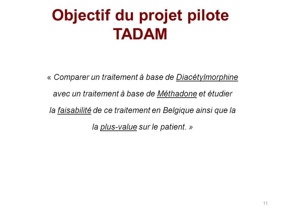 Objectif du projet pilote TADAM
