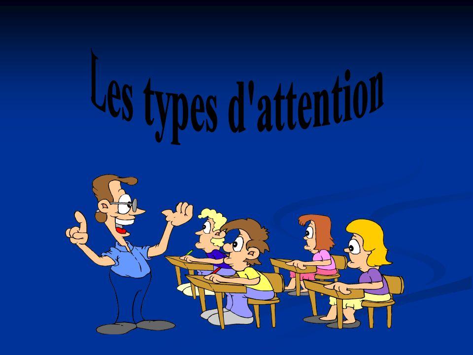 Les types d attention