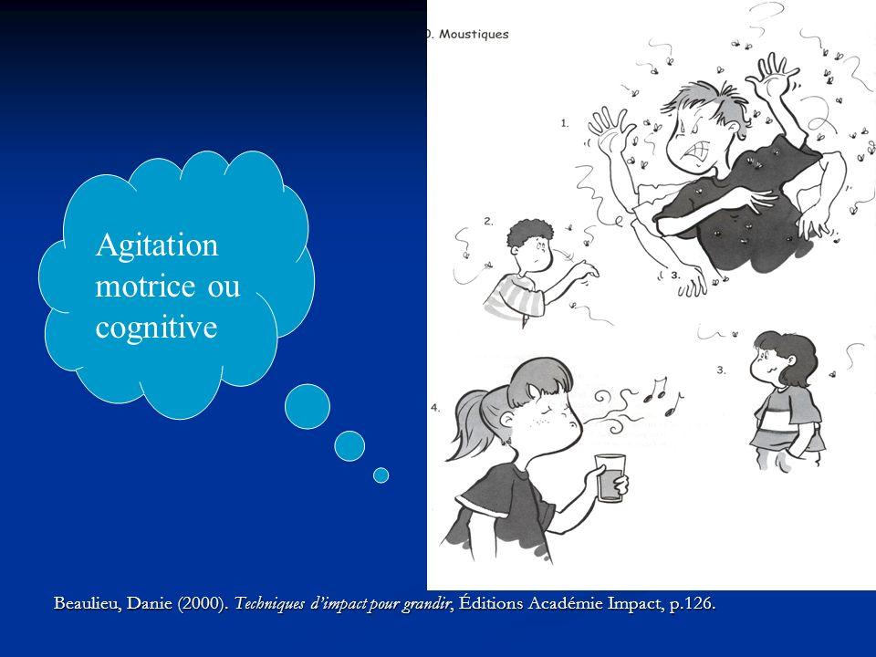 Agitation motrice ou cognitive