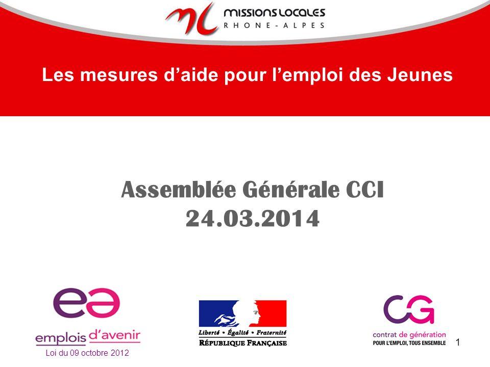 Assemblée Générale CCI 24.03.2014