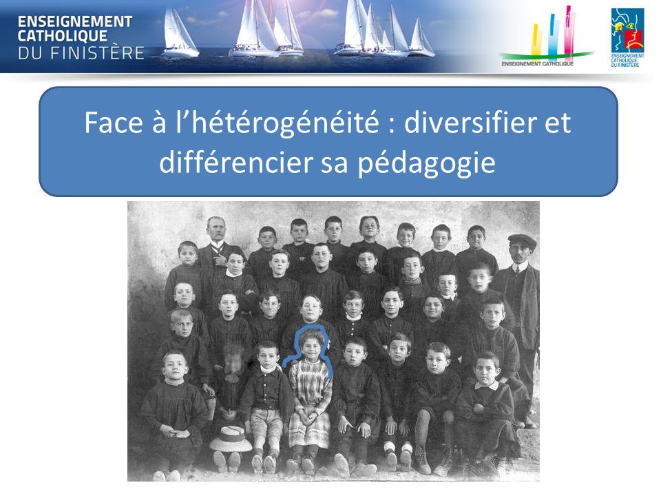 Face à l'hétérogénéité : diversifier et différencier sa pédagogie