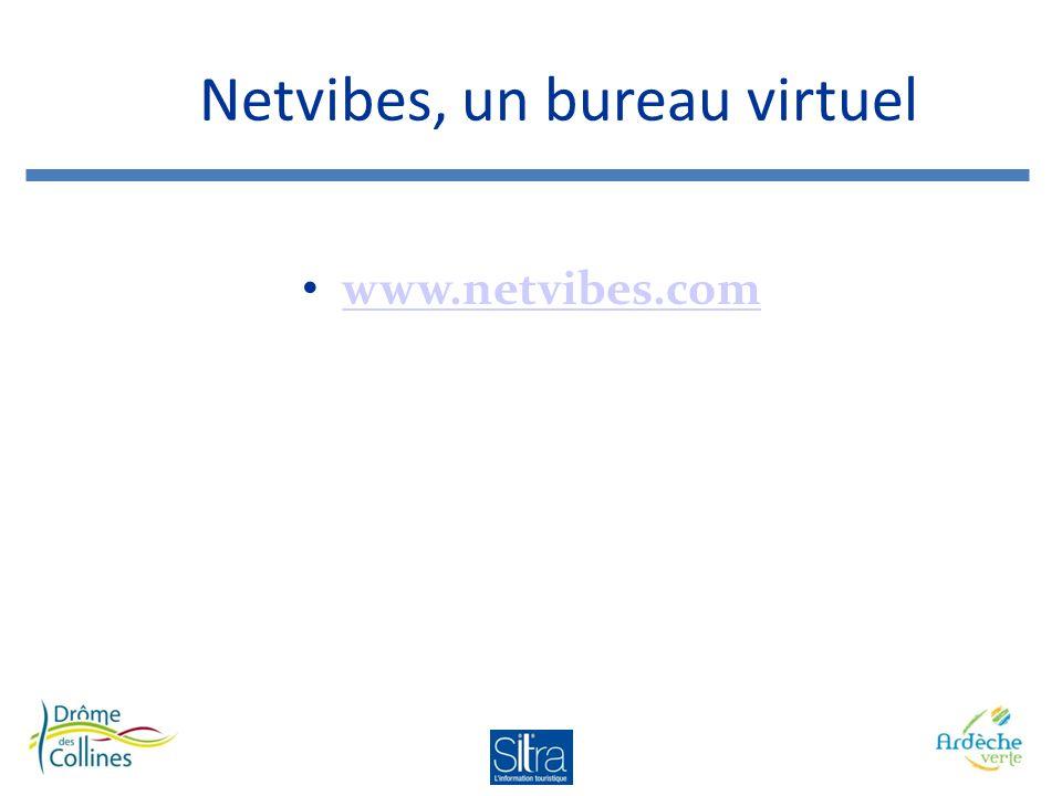 Netvibes, un bureau virtuel